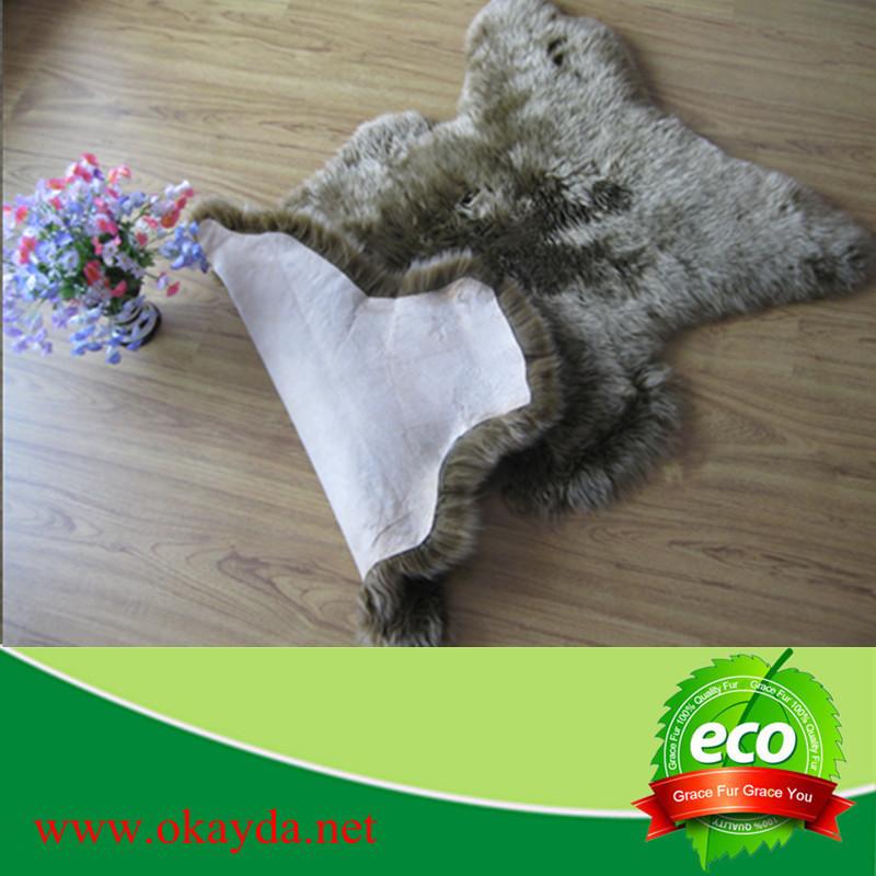Alfombra de piel de oveja tener a china - Alfombra oveja ...