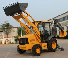 Chinese mini tractor 0.3/1.0cbm bucket 7t small backhoe loader for sale
