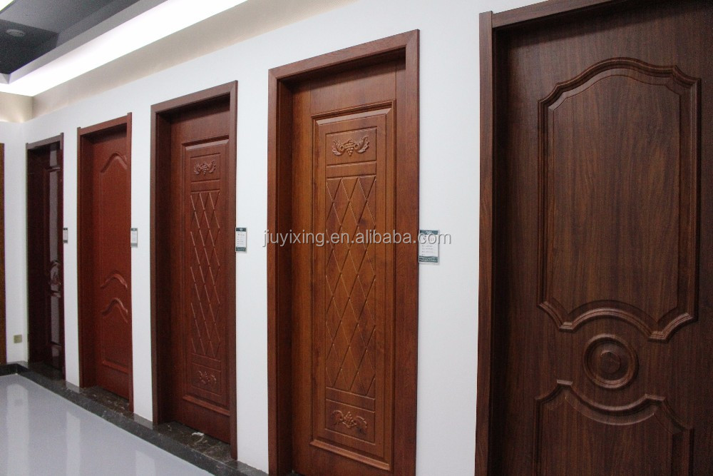 180 Degree Interior Glass Hinge Swing Door Solid Wood Door Yk 817