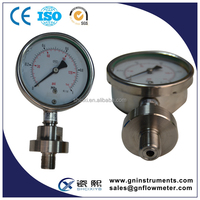 dual needle air pressure gauge, gas manometer, lpg gas pressure gauge