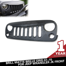 For 2007- 2015 Jeep Accessories Angry Bird Grille for Rubicon Sahara JK