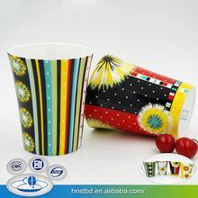 Oem Service Full Color Stoneware Product Direct Price Travel Coffee Mug Porcelain