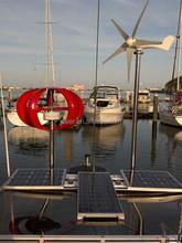 200w vawt turbine vertical wind generator for boat