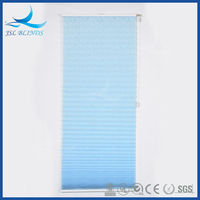 Guangzhou factory supply pleated fabric blind
