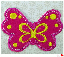 Wholesale new design animal iron on patch and applique patch embroidery lace