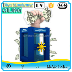 qiling 2016 fun inflatable game inflatable cash money for activity