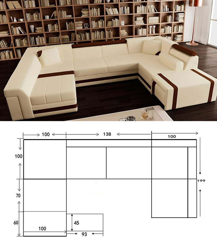 U shape sofa extra large sofas sofa set designs modern l for L shaped couch name