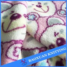 active sublimation print super soft microfibre coral fleece kids pajamas