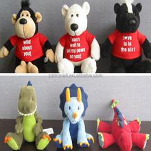 sound module plush toys 2012 New Cute Plush Toys, Panda Toys, Soft Toys for Kids