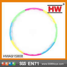 Colorful Plastic Sport Games For Kids Cheap Hula Hoop