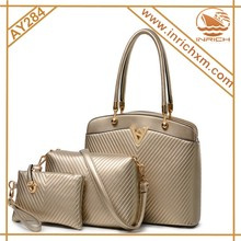 3pcs New Handbag Set Lady Leather Handbag Wholesale