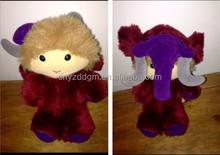 cute plush stuffed elephant boy toy /boy with elephant shape clothes doll/custom plush toy