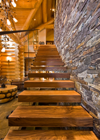 American walnut wood stair tread covers
