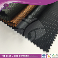factory outlets 100 polyester dobby inner fabric types of jacket lining fabric material
