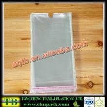 cheap clear opp bag for Socks/opp plastic bag/self adhesive opp bag
