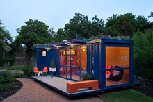 Fully furnished 40ft shipping container home floor plans