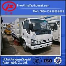 EURO 4 JNDFA5072TSLQ4 QINGLING road clean vacuum sweeper truck