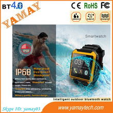 watch phone user manual new arrival factory price 1.54 inch IP68 Smart Watch with tough Touch Screen, Outdoor Sports Watches