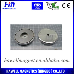 Cup Shape Shape and Permanent Type magnet holding