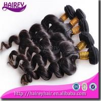 Top quality 16 18 20 inch full cuticle grade 6A 100% virign eurasian exotic wave hair