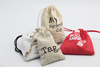 2015 recyclable shopping cotton bag with standard size pouch