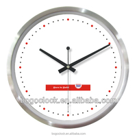 Wall clock modern with competitive price and support OEM design