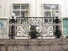 ornamentales de hierro parrillas para cerca del jardín