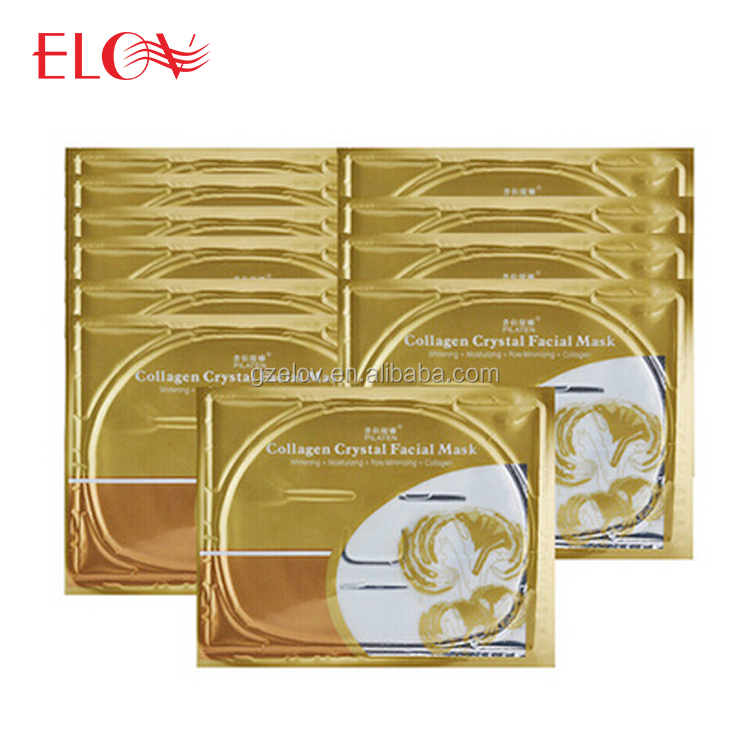 Luxurious 24K Gold Collagen Crystal Gold Face Mask