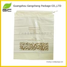 2014 Waterproof cute drawstring wholesale for hotel plastic laundry bag