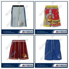 latest basketball shorts design,high quality mesh fabric wholesale mens basketball jerseys/shorts