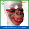 X-MERRY Professional supplies latex orangutan funny with a glasses disguise theater props
