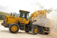 Wheel Loader Rated load 3ton Front End Fork Auto Mini Wheel loader 1.8m3 Bucket capacity