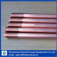 long use life copper bonded earth rod