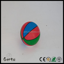 2015 hot sales super bounce soft mini inflatable pvc basketballs