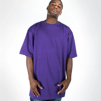 china manufacture cotton blank tall t shirts for men