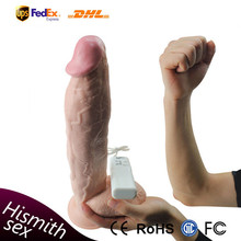 12.5inch Sturdy Suction Cup Realistic Huge Silicone Dildo