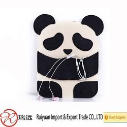 HOT SALE Cartoon Panda Felt Cell Phone Bag,Mobile phone bag China Supplier