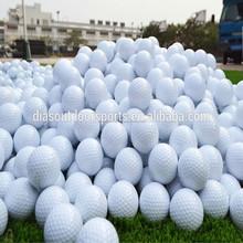 Supply Custom logo driving range golf balls