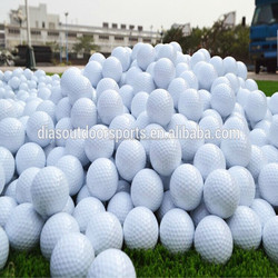 Supply Custom logo driving range golf balls