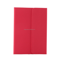 Foldable slim smart protective leather case for 8 inch tablet pc
