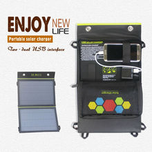 1YEAR WARRANTY! hottest selling 10W Foldable Dual-Port USB mobile solar charger solar charger for mobile phone