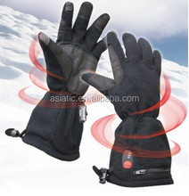 battery powered heat, battery heated, electrical heat, fleece, winter, outdoor, skiing, hiking, touch-screen, gloves