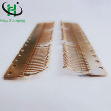 High precision stamping male crimp pins