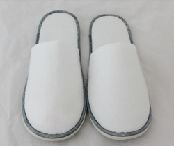 Autumn winter disposable slippers hotel home cotton portable travel slippers 10pairs per bag