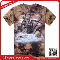 best product china wholesale sublimation brand 3d printed t shirt clothing