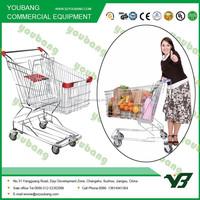 steel frame foldable shopping cart trolley