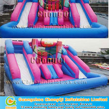 beautiful princess inflatable water slides wholesale