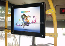15 Inch LCD Bus Advertising Player Back Fixing Structure