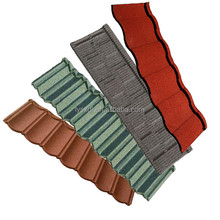 aluminum sheet roofing colorful stone chip coated steel roof tile galvanize steel tile