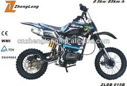 2015 new design gas-powered 2 stroke dirt bike for sale